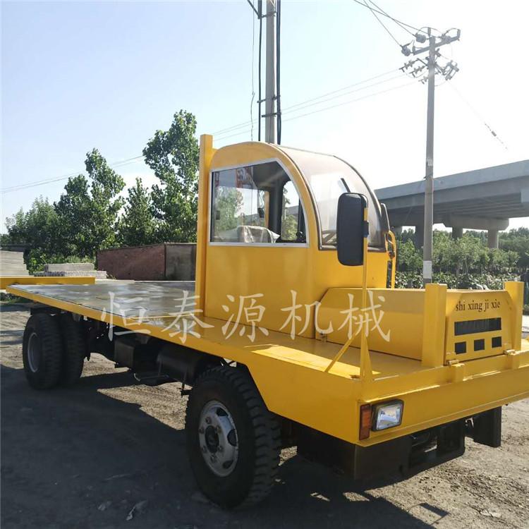 河北拉木材专用四不像平板运输车带翻斗后卸 服务至上 济宁市恒泰源工程机械供应