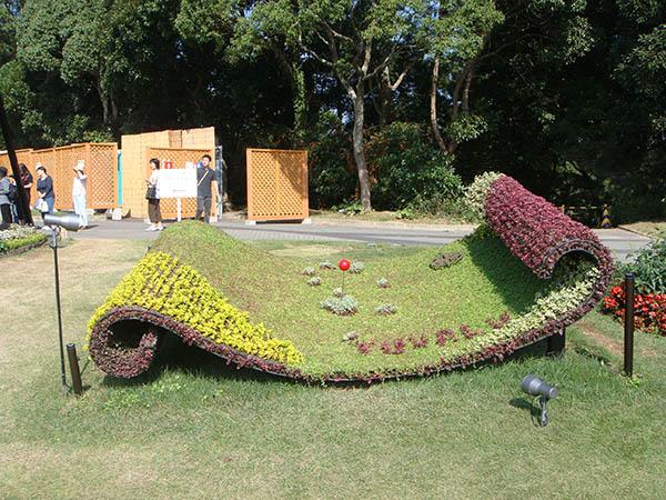 家装五色草造型设计客户至上「河南彩景园艺v家装」鹰潭设计师前程无忧图片