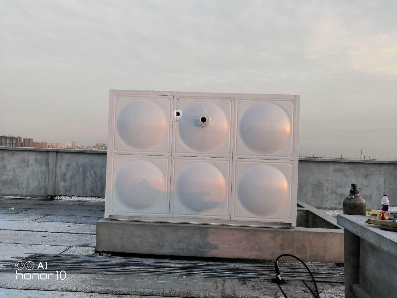 内衬不锈钢水箱定制,不锈钢水箱