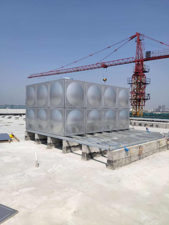 济南高位消防不锈钢水箱厂家,不锈钢水箱