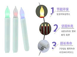 广东LED杆蜡电子蜡烛便宜 其志供应