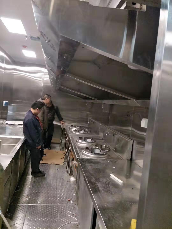 舟山餐饮连锁店厨房排烟罩 服务至上 无锡市永会厨房设备制造供应