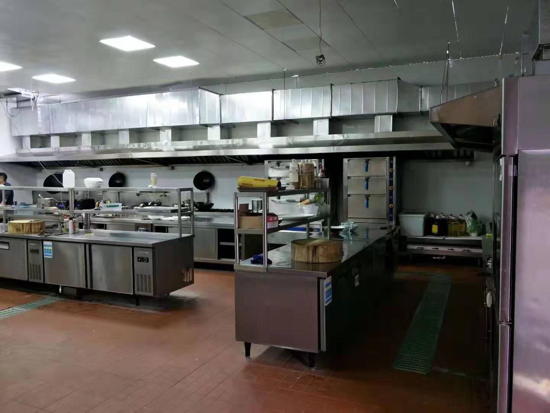 金华饭店厨房排烟罩 服务为先 无锡市永会厨房设备制造供应