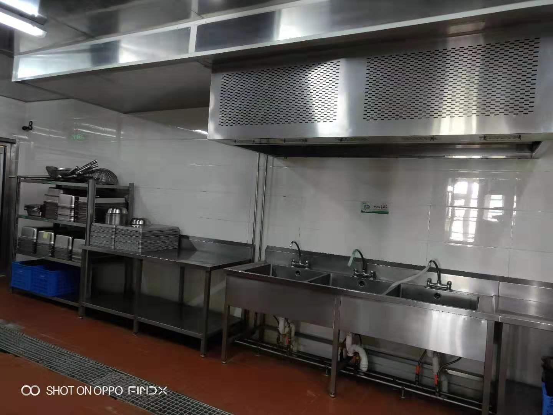 臺州防水廚房排煙罩 貼心服務 無錫市永會廚房設備制造供應