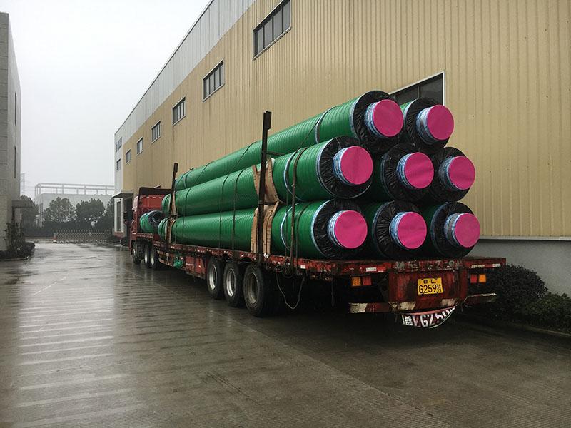 安徽预制蒸汽架空管 服务为先 万里管道