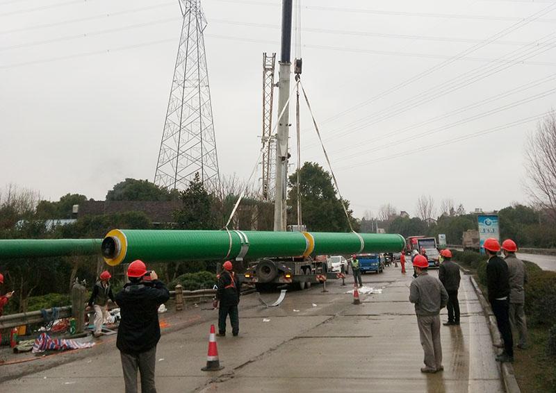 广西架空蒸汽保温管 欢迎来电 宁波万里管道供应