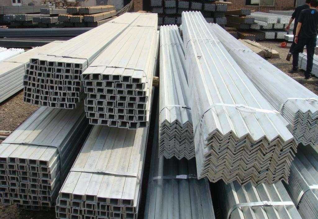常州镀锌角钢厂家「南京聚钢金属材料供应」