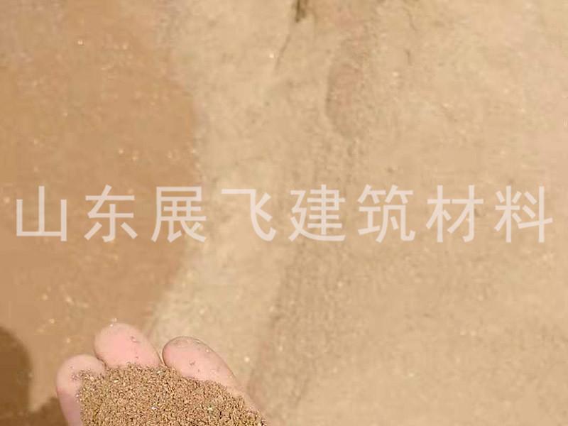 烟台风化沙生产厂家 展飞建材供应
