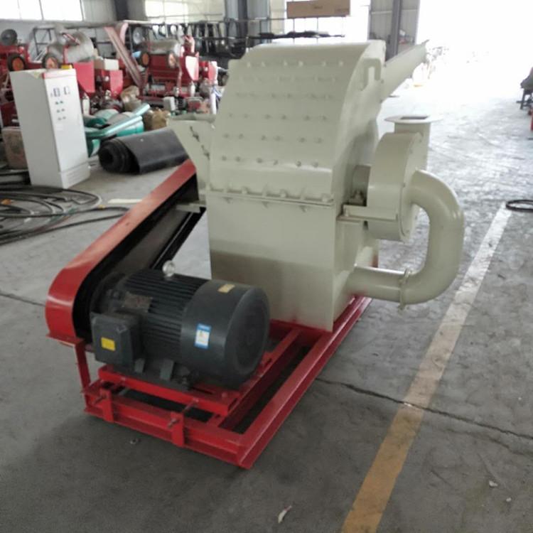 广西自动进料树枝粉碎机价格 山东捷威迅机械设备供应