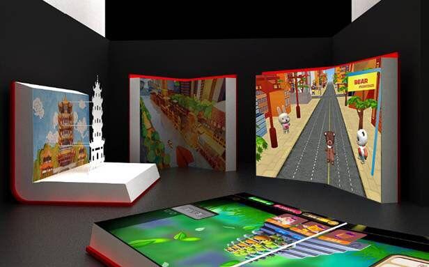 南京智能互动投影维修价格,互动投影