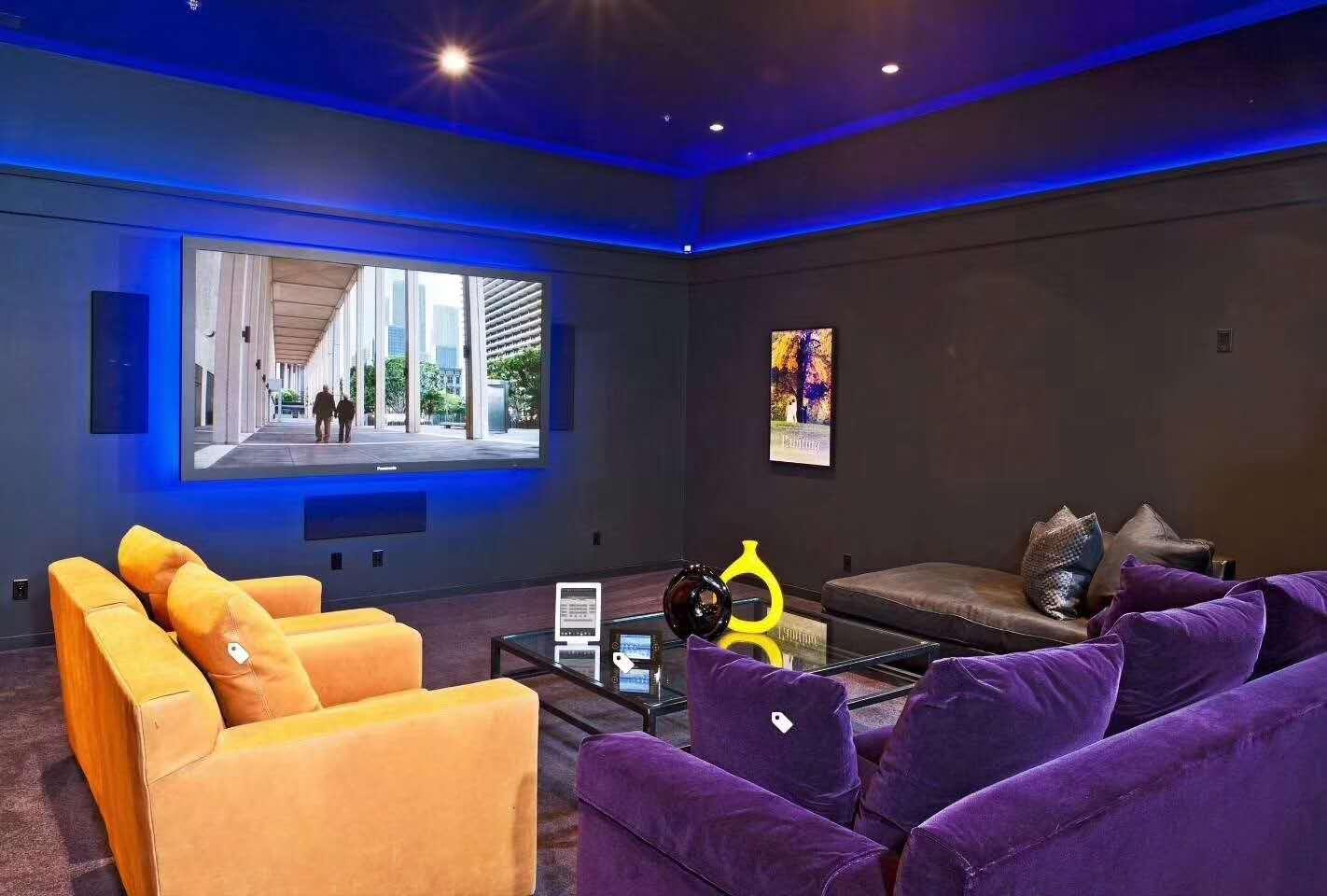 上海进口家庭影院品牌投影幕怎么安装 推荐咨询 上海树创智能科技供应