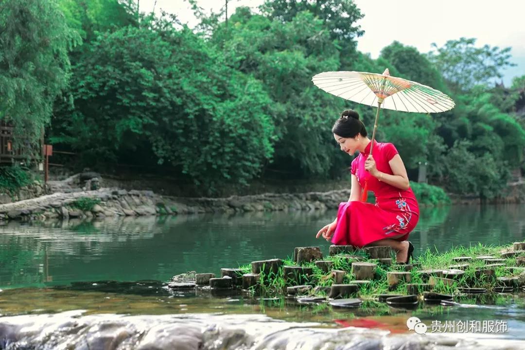 郑州口碑好烟雨江南旗袍点击了解更多 值得信赖「贵州创和服饰供应」