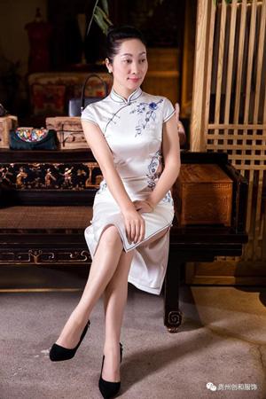 白云区旗袍清新货真价实 欢迎咨询「贵州创和服饰供应」
