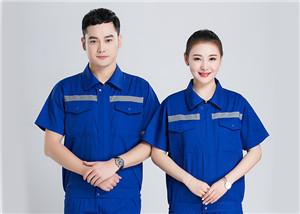 安徽夏季工作服好的品牌 来电咨询 合肥万安服装供应