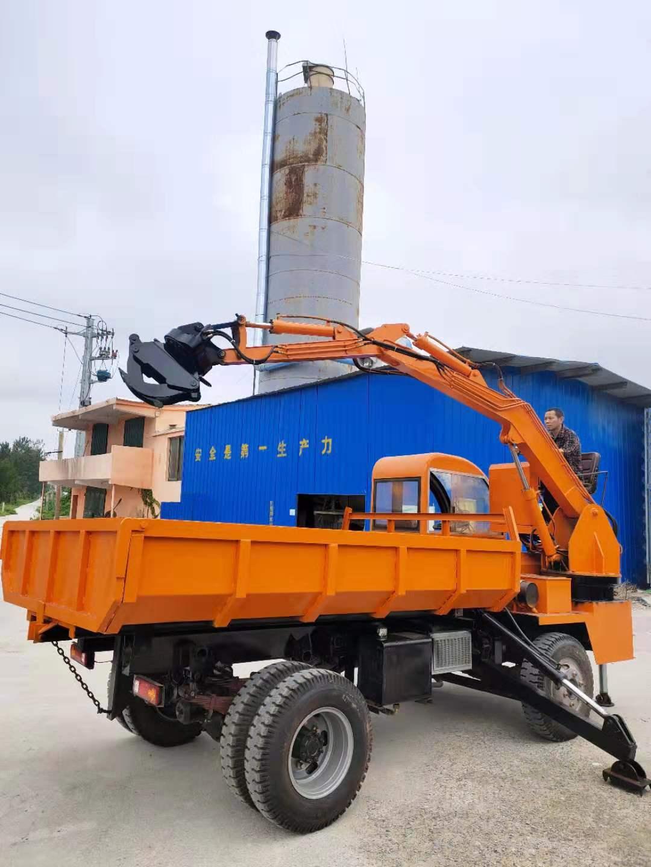 广西大型10吨抓木机 欢迎来电 济宁市恒泰源工程机械供应