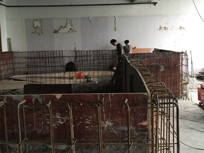 上海正品土建游泳池蓝瀑供,土建游泳池