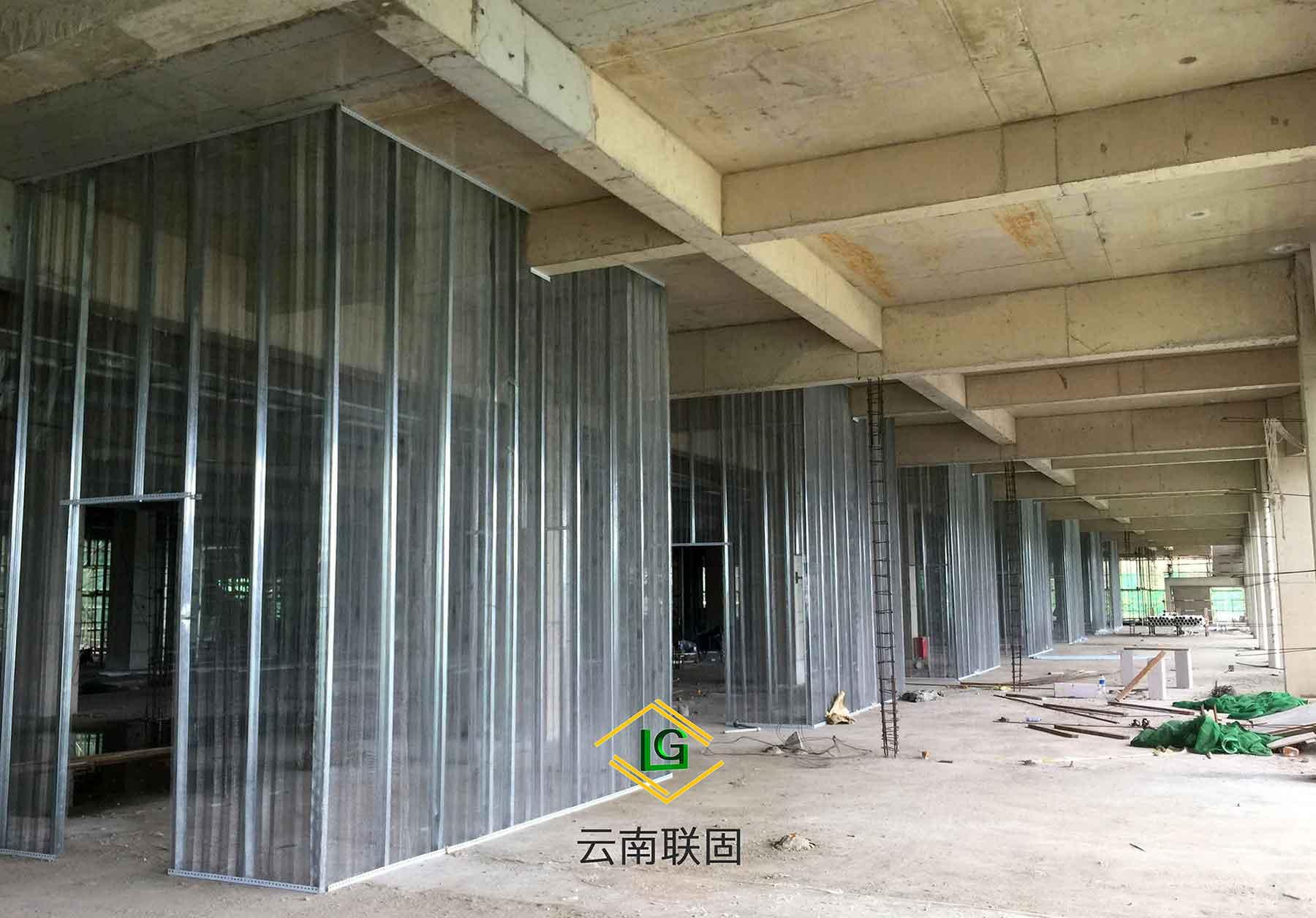 吉林钢网内模金属网轻质隔墙质量放心可靠 诚信经营 云南联固建筑材料供应