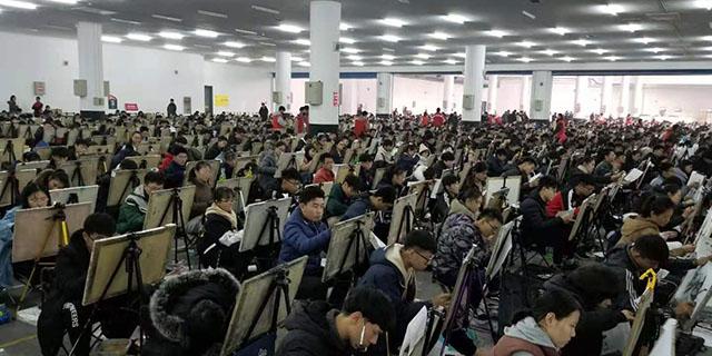 科苑小學附近高考速寫 淄博新動力畫室服務