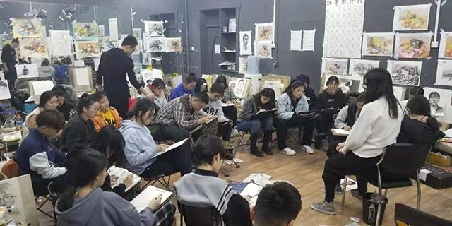 張店七中附近新動力速寫學習 淄博新動力畫室服務