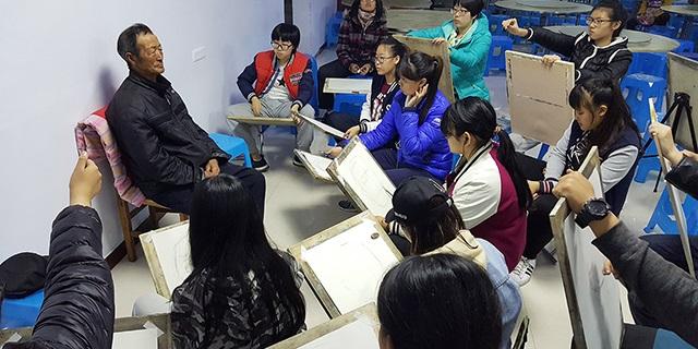 淄博五中新動力美術學習 淄博新動力畫室服務