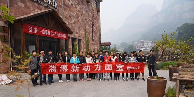 柳泉路附近高考画室培训机构 淄博新动力画室服务