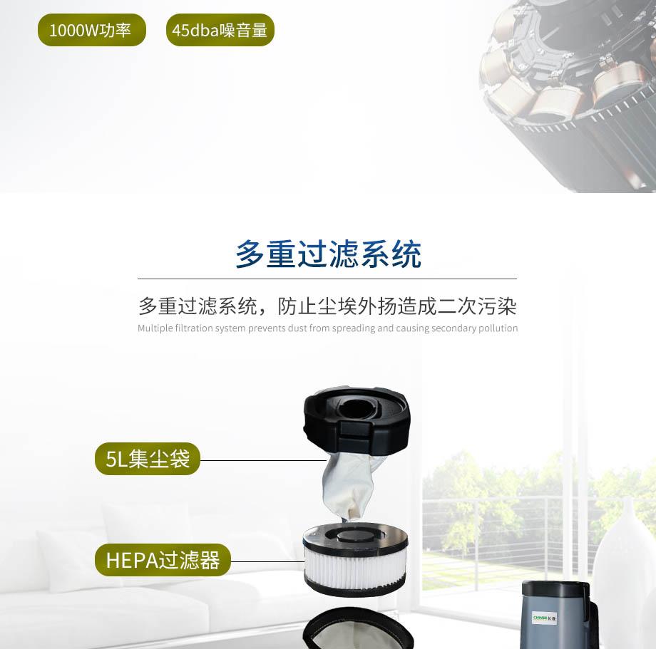 安徽小型长淮肩背式吸尘器多少钱 欢迎来电 安徽洁百利环境科技供应