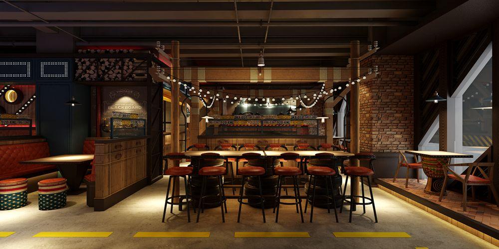 江蘇原創西餐廳設計哪家好 上海七原空間設計供應