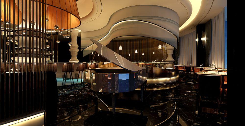上海原创西餐厅设计方案 上海七原空间设计供应