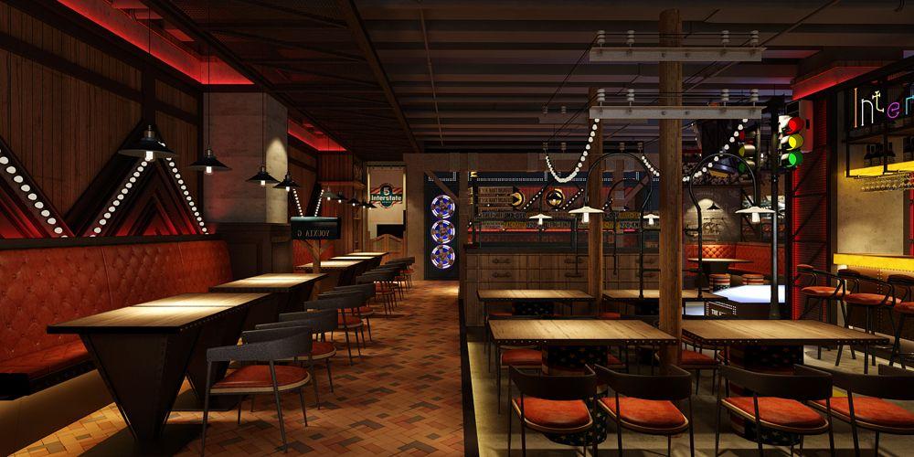 江苏优秀餐厅设计高性价比的选择 上海七原空间设计供应