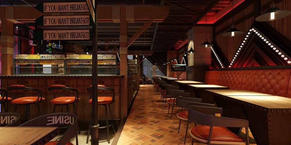 浙江原创餐厅设计哪家好 上海七原空间设计供应