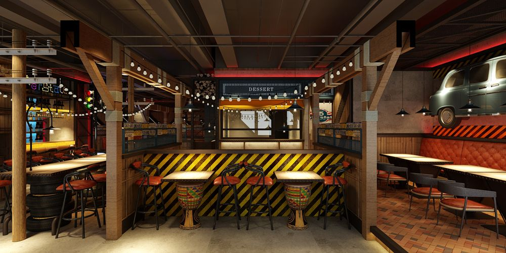 江蘇品質好餐廳設計高性價比的選擇 上海七原空間設計供應