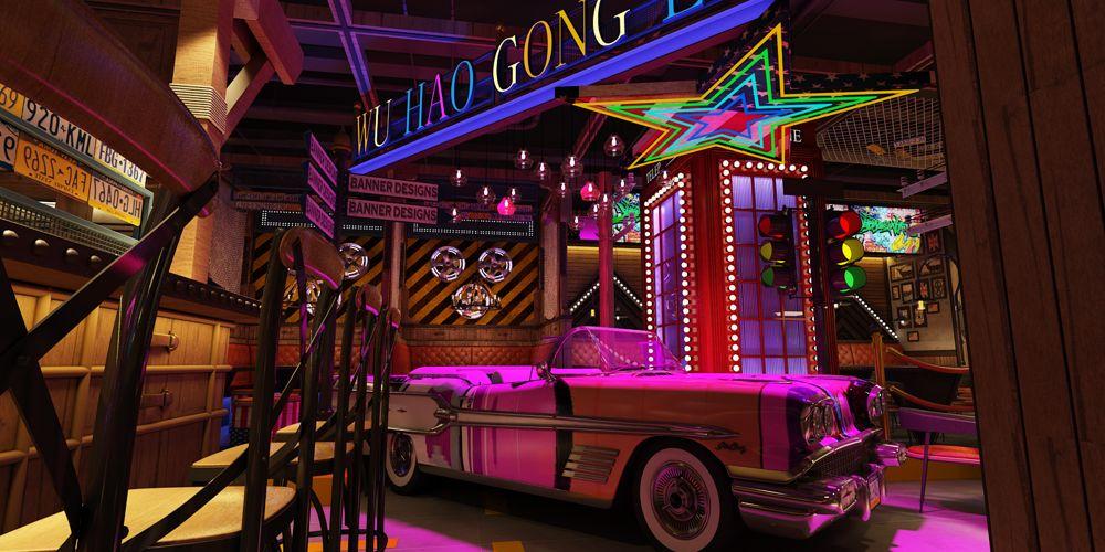 江苏餐厅设计方案 上海七原空间设计供应