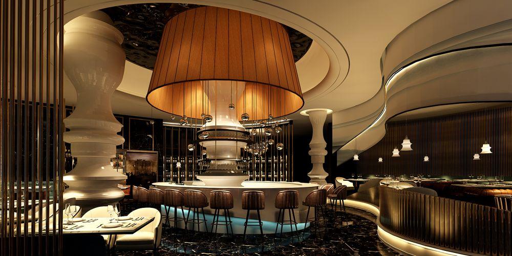 江苏专业的餐厅设计需要多少钱 上海七原空间设计供应