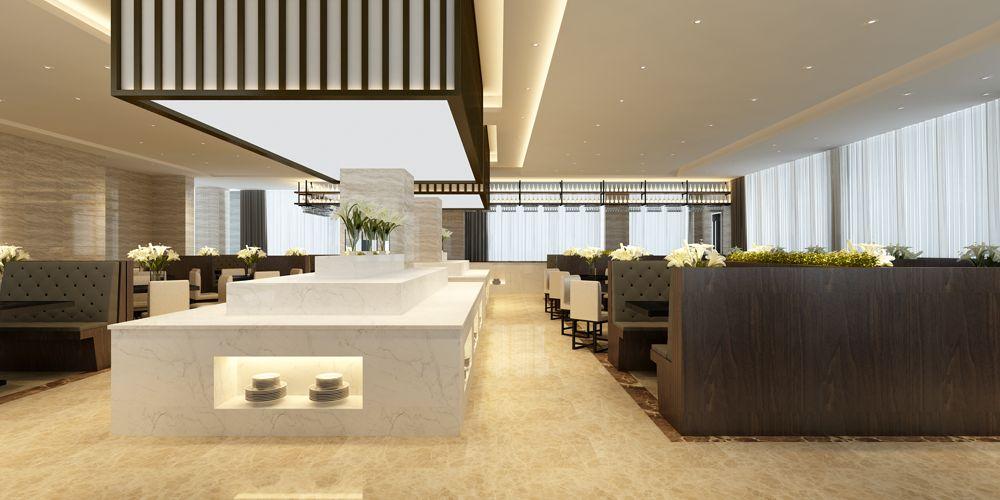 上海口碑好的餐厅设计哪家好 上海七原空间设计供应
