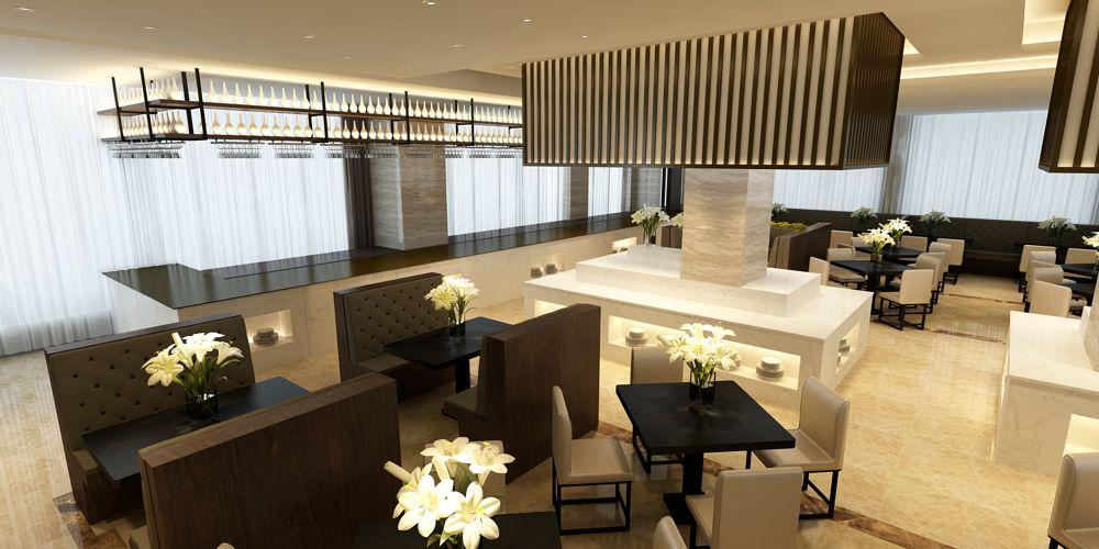 江苏口碑好的餐厅设计值得信赖 上海七原空间设计供应