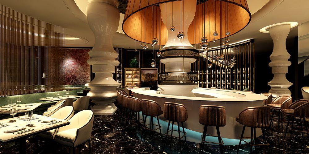 上海原创的餐饮设计免费咨询 上海七原空间设计供应