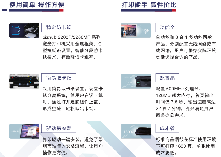 西寧一體機黑白多功能復合機哪家好 推薦咨詢 西寧柯美電子供應