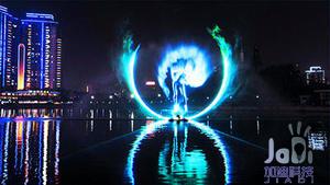 厦门科技文创灯光供应「厦门市加迪智世界租赁」北流广场情趣图片