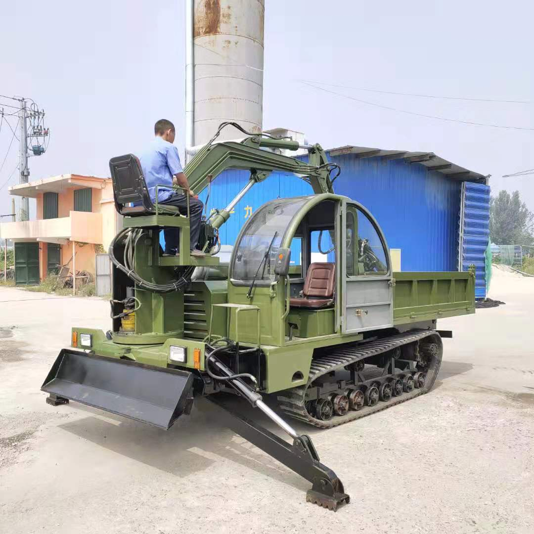 四川农用抓木机破碎锤履带随车挖价格表 济宁市恒泰源工程机械供应