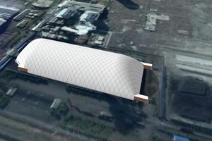 新疆口碑好料场封闭设计需要多少钱 来电咨询 新疆排云环保科技供应