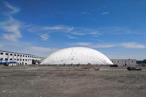 新疆气膜料场设计需要多少钱 卓越服务 新疆排云环保科技供应