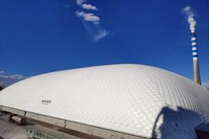 新疆乌鲁木齐气膜体育馆产品安装多少钱 值得信赖 新疆排云环保科技供应