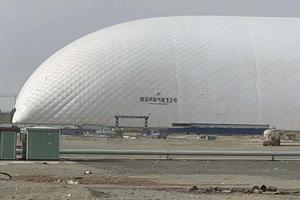 新疆气膜灰场设计多少钱 来电咨询 新疆排云环保科技供应