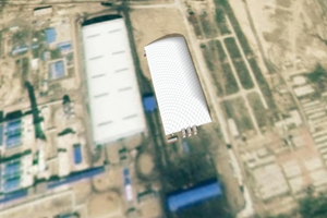 新疆乌市气膜煤场公司 值得信赖 新疆排云环保科技供应