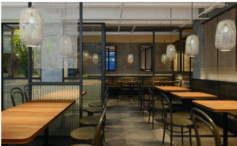 上海原创餐厅设计价格 值得信赖 上海七原空间设计供应