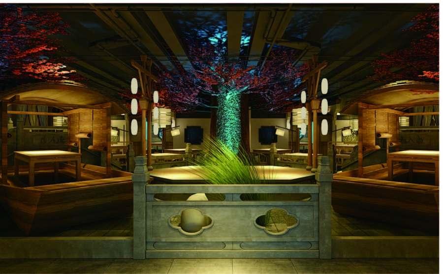 山东原创餐厅设计价格 值得信赖 上海七原空间设计yabo402.com