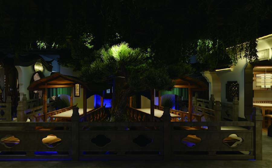 浙江优秀餐厅设计信赖推荐 值得信赖 上海七原空间设计供应