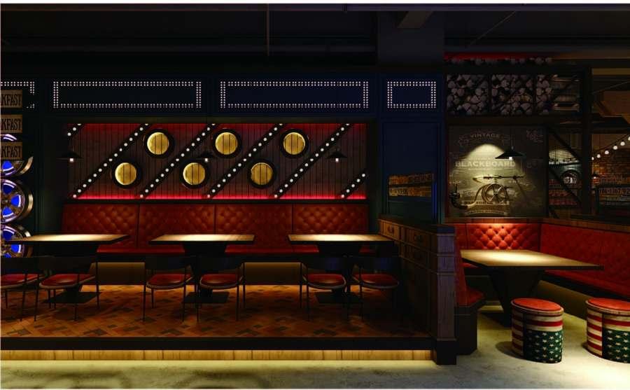 广东口碑好餐厅空间设计,餐厅空间设计
