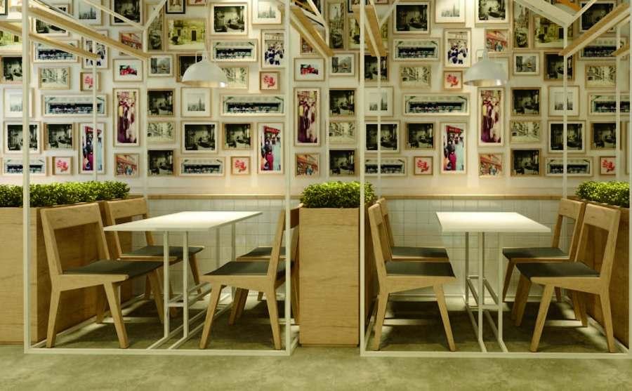 湖南口碑好餐厅空间设计方案「上海七原空间设计供应」