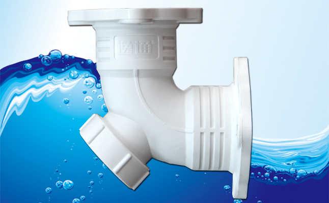 天津直销frpp法兰连接排水管 上海逸通科技供应